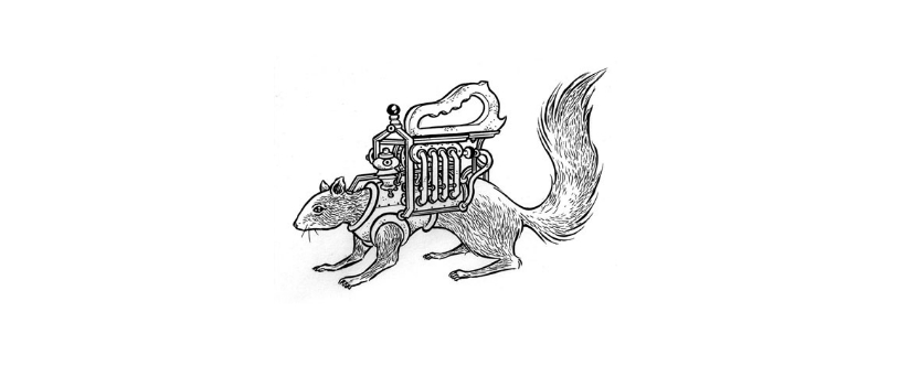 The squirrel machine | Invenzione, esplorazione,iniziazione